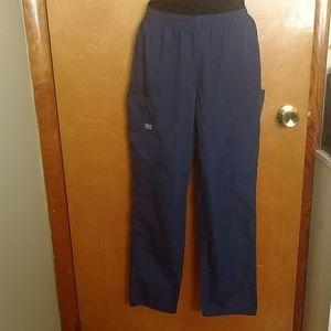 Unisex Navy Blue Scrub pants - size XS petite